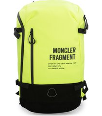 moncler techno-canvas backpack