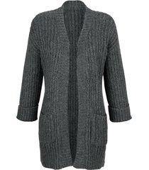 kofta dress in antracitgrå