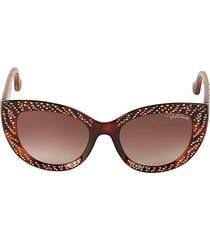 studded 54mm butterfly sunglasses