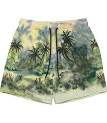 x vilebrequin jungle swim shorts