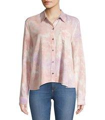 haze button-down blouse