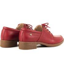 zapatos casuales para mujer cosmos rojo-1
