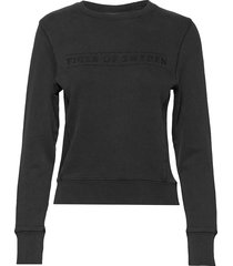 obsessa pr sweat-shirt trui zwart tiger of sweden jeans