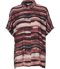 iboni blouses short-sleeved multi/mönstrad masai