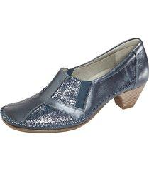 skor naturläufer blå