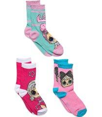 socks by x 3 night & underwear socks multi/mönstrad l.o.l