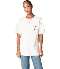 camiseta de manga corta converse x bugs bunny fashion white