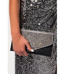akira link up rhinestone envelope clutch