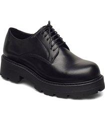 cosmo 2.0 snörade skor låga svart vagabond