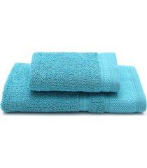 jogo de banho 2pã§s buddemeyer windsor azul 70 x 135 - azul - dafiti