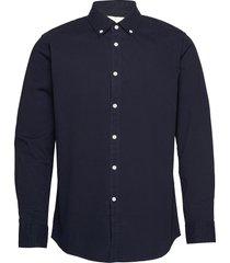 alex shirt overhemd casual blauw fram