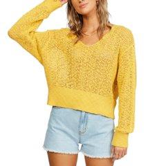 billabong juniors' feel the breeze sweater