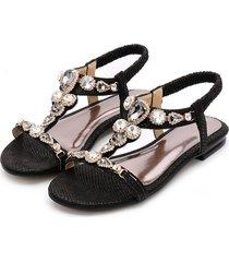 sandalias de punta abierta para mujer con malla sandalias mujer