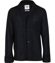 opening ceremony black mohair blend cardigan
