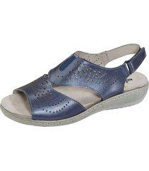 sandaletter naturläufer blå