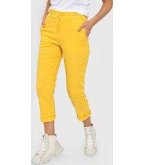 pantalón amarillo tarym