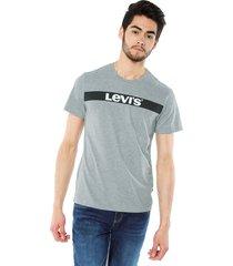 camiseta gris levis