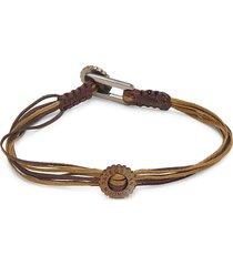 tateossian men's multi-strap bracelet