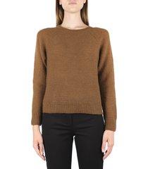 max mara burnt color cashmere sweater