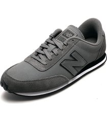 tenis lifestyle gris-negro-blanco new balance classics traditionnels 410