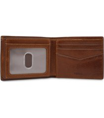 fossil men's jesse leather wallet
