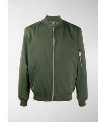 a.p.c. jac bomber jacket