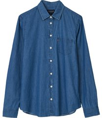 jeansskjorta emily denim shirt