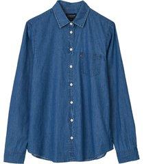 jeansskjorta emily denim shirt