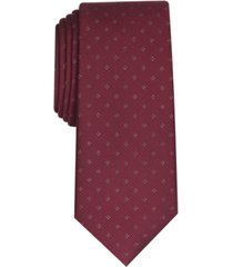 alfani men's slim metallic neat tie, created for macy's