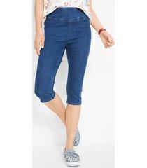capri jeans met corrigerende band