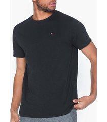 tommy jeans tjm original jersey tee t-shirts & linnen svart