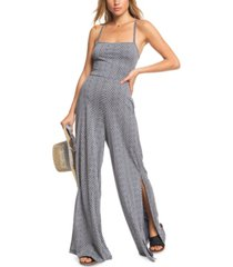 roxy juniors' one last time strappy-back jumpsuit