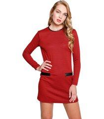vestido corto arthur rojo eclipse