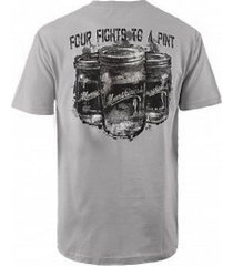 authentic moonshiners four fights to a pint alcohol discovery channel t shirt s