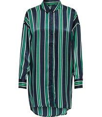 onlmabel ls long shirt wvn night sky/new preppy