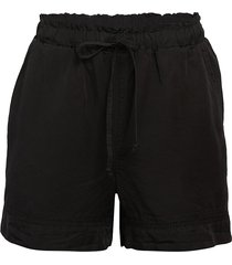 pure navy women's lace-trimmed shorts - light indigo - size s