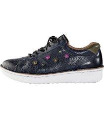 skor gemini mörkblå