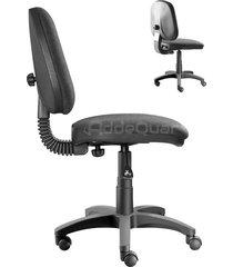 silla de oficina addequar media fija color negro ref: sol-42