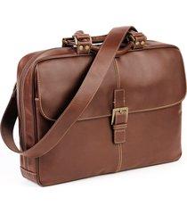 men's boconi 'bryant' briefcase - brown