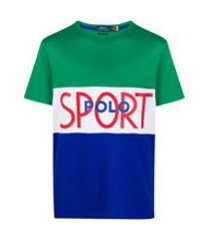 polo ralph lauren camiseta com recortes - verde
