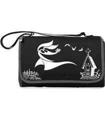 oniva by picnic time disney's nightmare before christmas zero blanket tote outdoor picnic blanket