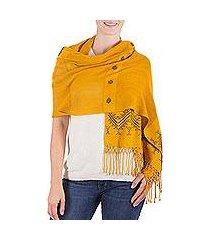 shawl, 'hillside lullaby' (guatemala)