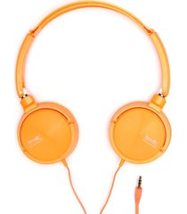 audifonos naranja color naranja, talla uni