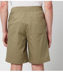 holzweiler men's raford shorts - olive green - it 52/xl