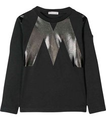 moncler black long sleeve t-shirt