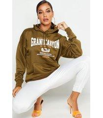 grand canyon basic hoodie, khaki