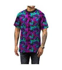 camiseta di nuevo coqueiros neon psy masculina