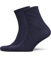 th women short sock 2p open bias lingerie hosiery socks blå tommy hilfiger