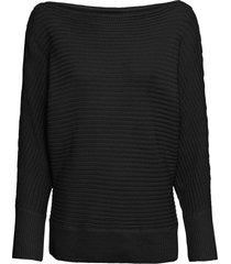 maglione con scollo a barca (nero) - bodyflirt