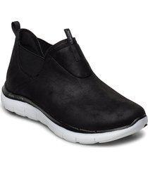 womens flex appeal 2.0 - d deal - waterproof låga sneakers svart skechers